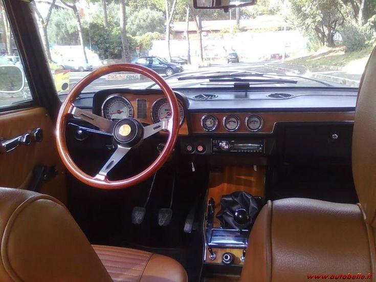 Alfa 2000 berlina blu olandese 1973 ASI