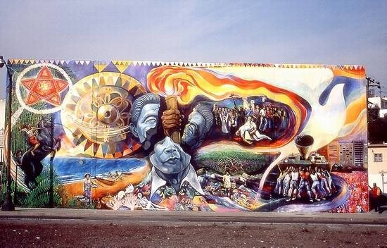 People power eliseo da silva change for the good for Bonifacio mural painting