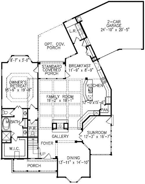 Plan 15682GE Cheery Corner Sunroom Victorian FarmhouseFarmhouse StyleHouse