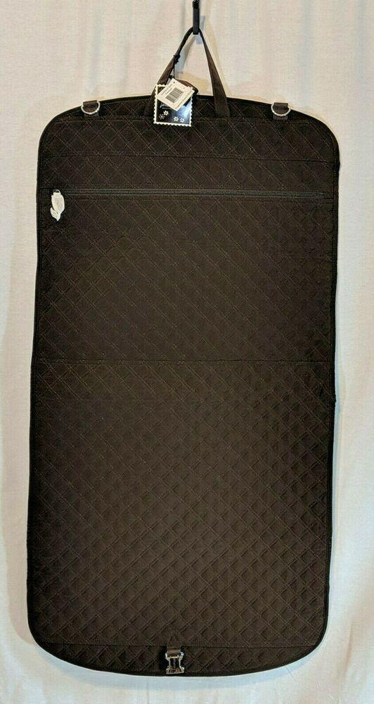 8f40c28c11 Vera Bradley Hanging Travel Garment Bag Brown Quilted Microfiber NWT   VeraBradley  SuitGarmentBag