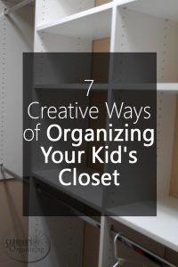 Best 25 organize kids closets ideas on pinterest - Cute ways to organize your bedroom ...