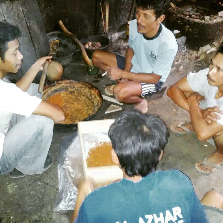 Pelatihan pembuatan gula semut di Kebumen, Gombong #lppslh #gulasemut #crystalsugar