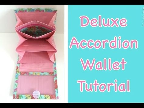 Tutorial: How to Make a Duct Tape Deluxe Accordion Wallet - YouTube