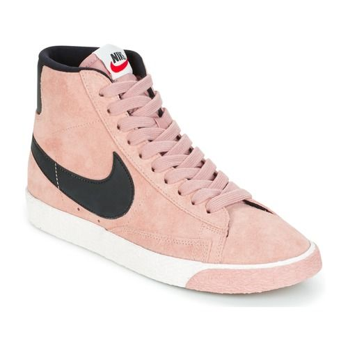 Nike BLAZER MID SUEDE VINTAGE W | Nike roses, Chaussures
