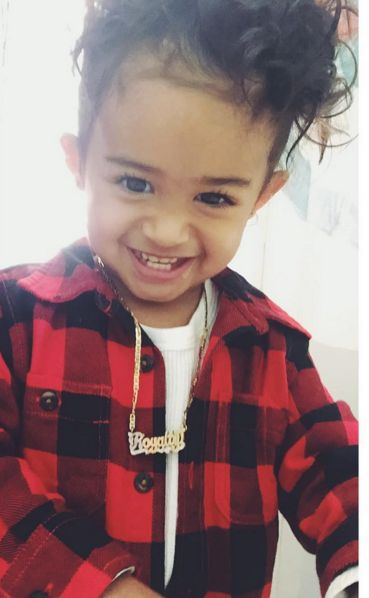 DAMINAJ: JUICY JIST: Chris Brown babymama & daughter royalty are ...
