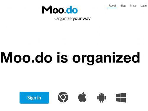Moo.do, un gestionnaire de tâches agréable et différent