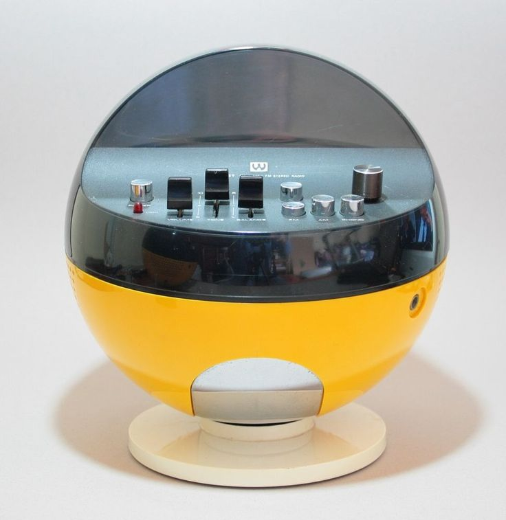 VERY RARE 1970S RADIO WELTRON 2002 VINTAGE SPACE AGE