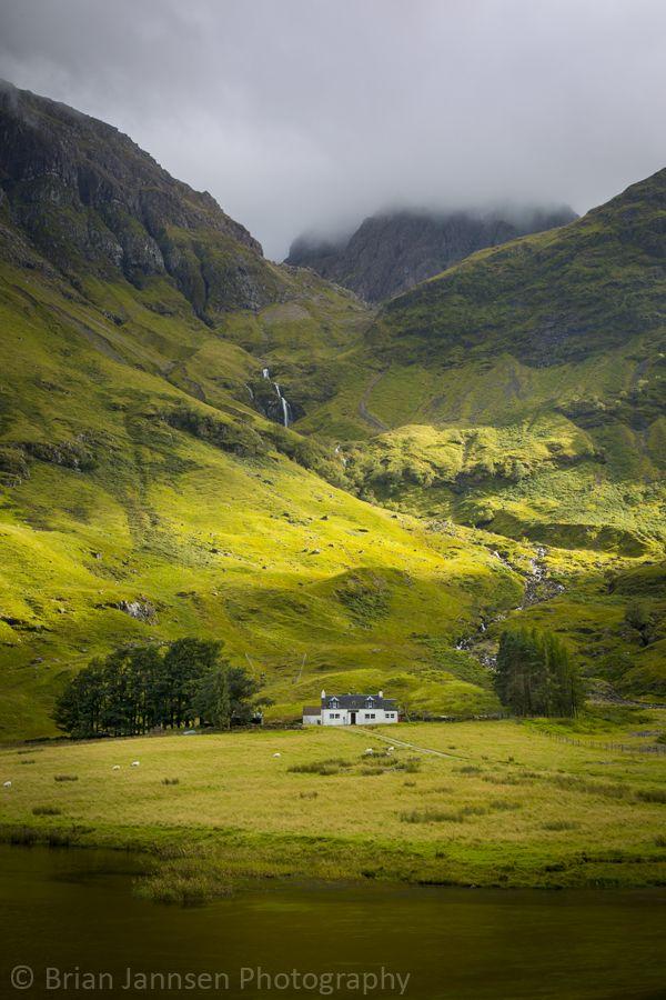 Glencoe Highlands, Scotland. © Brian Jannsen Photography
