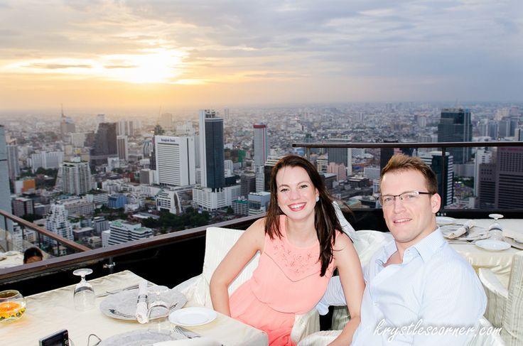 Vertigo Restaurant and Moon Bar. Bangkok. www.krystlescorner.com Blog — Krystle's Corner