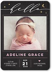 Baby Girl Birth Announcemnets | Shutterfly