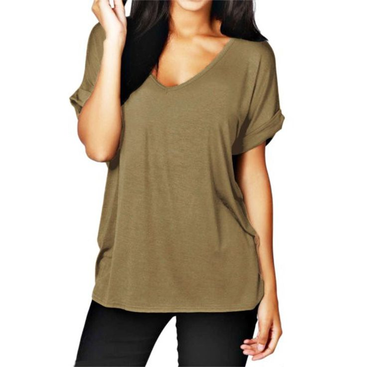 Zanzea Blusas Fashion Casual V Neck Short Sleeve Women Blouses Plus Size Loose Tops Blouse blusas y camisas mujer 6 Colors