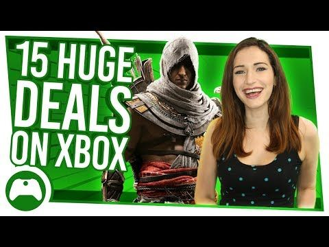 Every week brings a new batch of deals and sales to Xbox One and Xbox 360. Here are our top 15 cheap games from this week's deals – why not pick up Assassin's Creed Origins, South Park or Far Cry 4 for a bargain? Subscribe to the channel for great Xbox videos all week:...