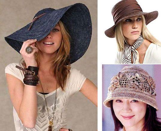 Летние шляпы для очаровательных женщин