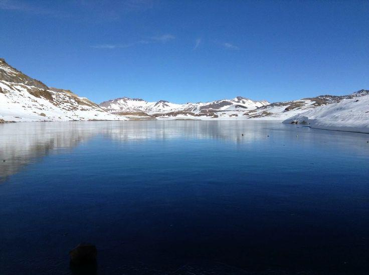 Laguna del Maule. Foto de Pablo Arellano.