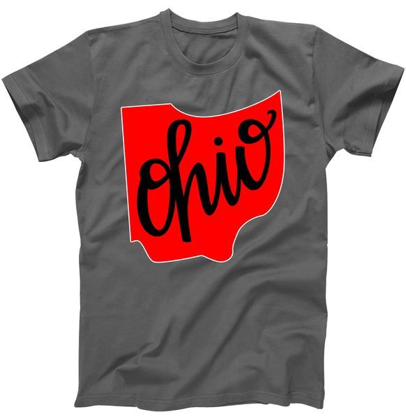 Ohio Outline State T-Shirt