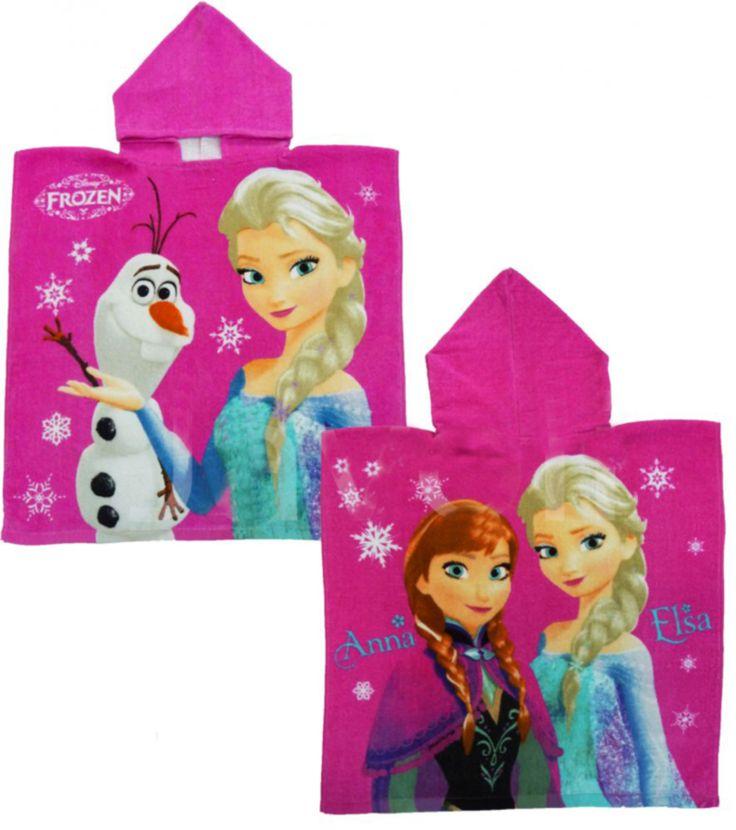 BabyTreasure- Πόντσο παιδικό θαλάσσης Frozen Disney - Frozen - 13,50€
