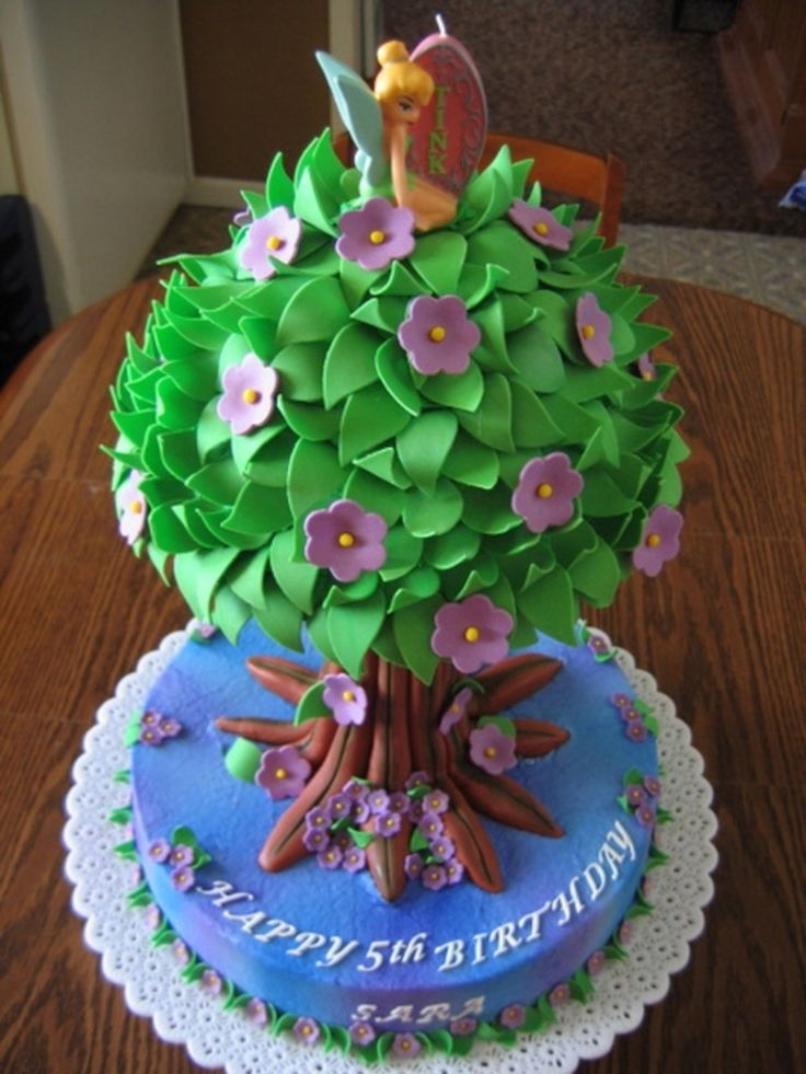 Cake Designs Tinkerbell : 17 Best ideas about Tinkerbell Birthday Cakes on Pinterest ...