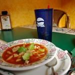 Ground Round Mexican Chicken and Tortilla Soup
