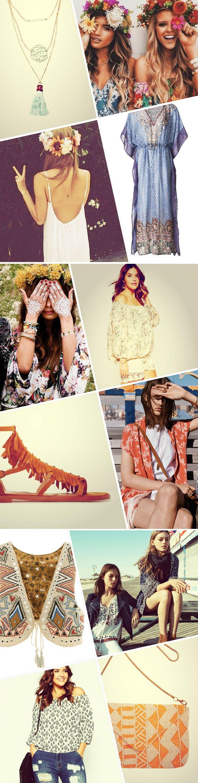 So stylt ihr den Hippie-Style richtig!  #hippiestyle #hippielove #style #fashion http://www.gofeminin.de/modetrends/hippie-kleidung-trend-s1298989.html