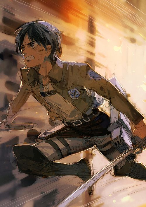 Eren Jaeger - Attack on Titan - Shingeki no Kyojin