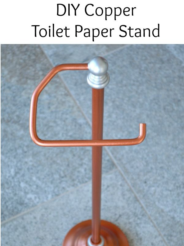 Diy Copper Toilet Paper Holder Toilets Copper And Search