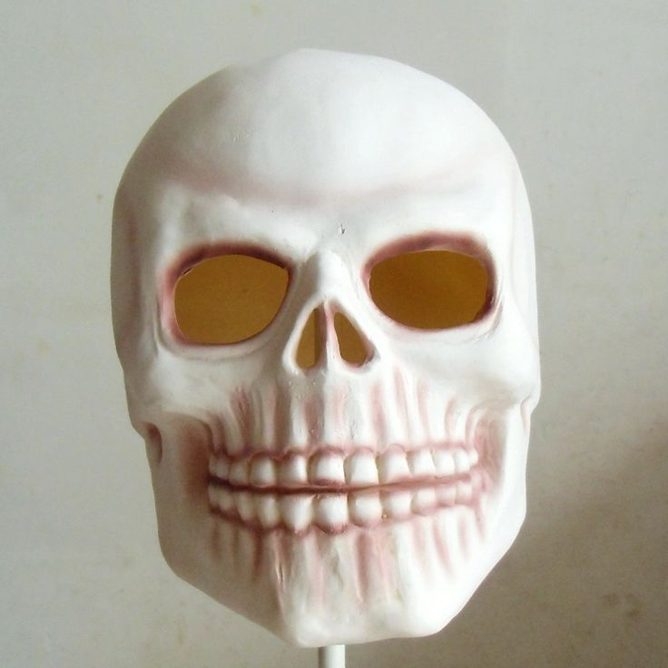 ree Shipping Realistic Death RIP Skull Face Mask Halloween Latex Mask Horror Masquerade Party Props