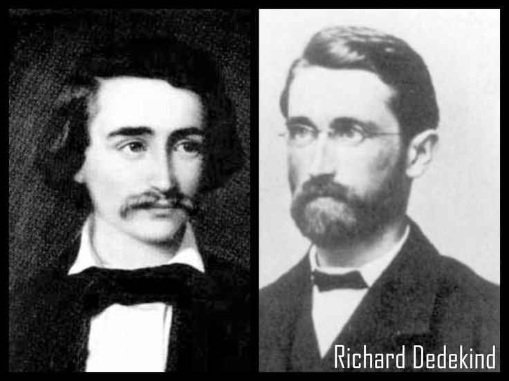 Richard Dedekind born in 1831 was a German mathematician who made important contributions to abstract algebra (particularly ring theory), algebraic number theory and the foundations of the real numbers.   #CelebratewithLThMath