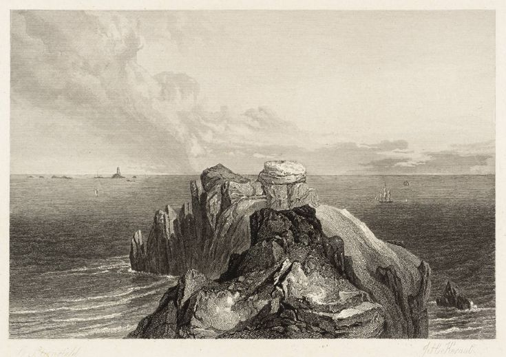 After Clarkson Frederick Stanfield, 'Land's End, Cornwall, engraved by J.W. Kernot' 1836