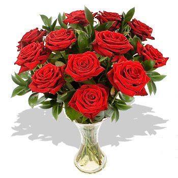 12 Luxury Red Roses Gift Wrap  Price:  £43.20  A simple and attractive bouquet sent out in a gift wrap, this arrangement speaks of all of the glory of the traditional red rose bouquet, but is made to fit your taste and budget.