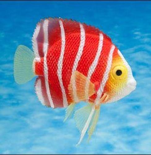 Eshopps Peppermint Angelfish Aquarium Decoration