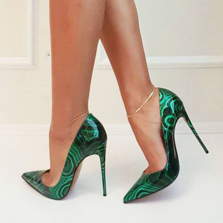 Ankle Strap Stiletto Pointed Toe High Heel Shoes Sandals