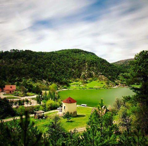 Çubuk gölü Bolu-Türkiye