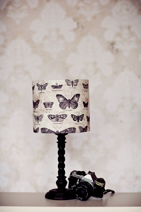 Lampshades butterfly lamp shade butterfly by ShadowbrightLamps
