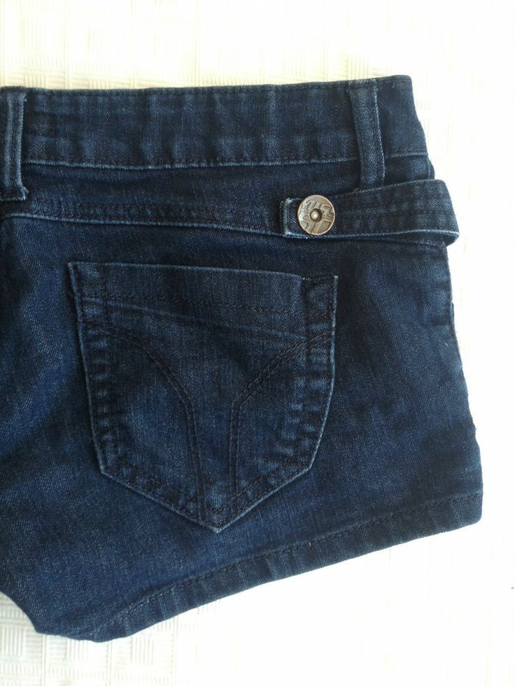 Ladies Miss Sixty Designer Denim Short Shorts - Size 28 - Now Selling! Click through to go to eBay auction.
