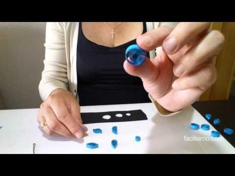 Cómo hacer figuras básicas de filigrana (1 de 3) | facilisimo.com - YouTube