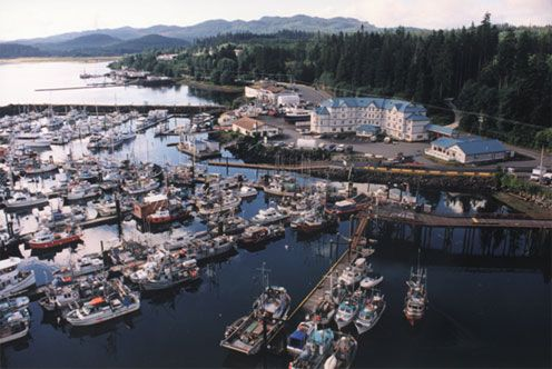 Port Hardy, British Columbia - -> A small serene little town located on the Northern tip of Vancouver Island.