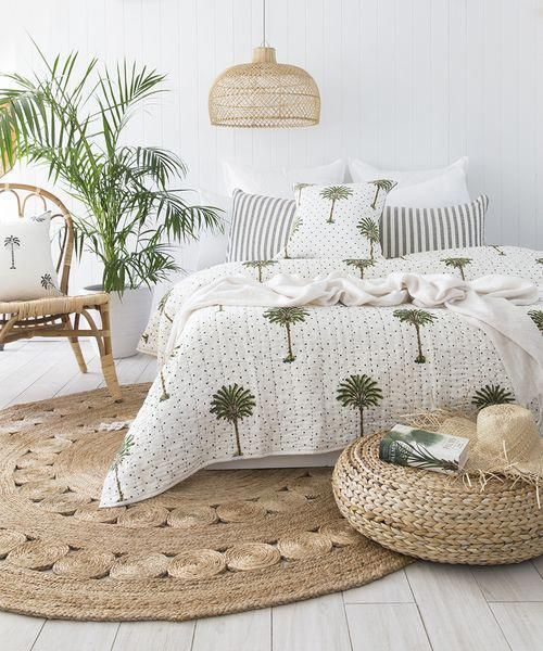 14 Tropical Bedrooms That Make You Feel Like You\u0027re Sleeping in the
