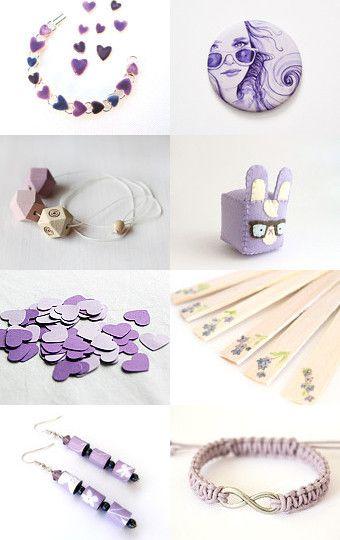 ♥ lilla ♥ by cucicreando --Pinned with TreasuryPin.com