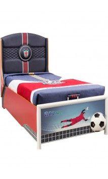 Habitación infantil para amantes del fútbol. Ambienta su habitación en un…
