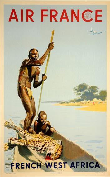 French West Africa Air France, Albert Brenet, 1950