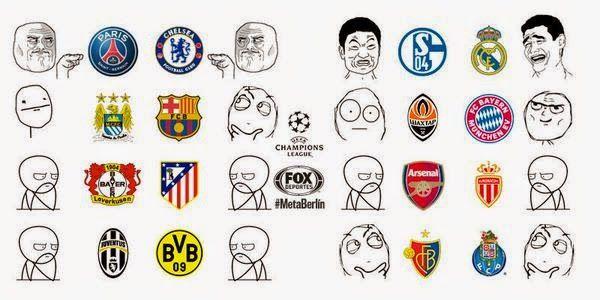 Los Memes de Octavos de Final de la Liga de Campeones