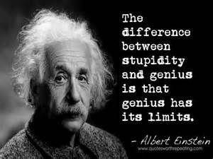 Albert Einstein Quotes Stupidity - Bing images