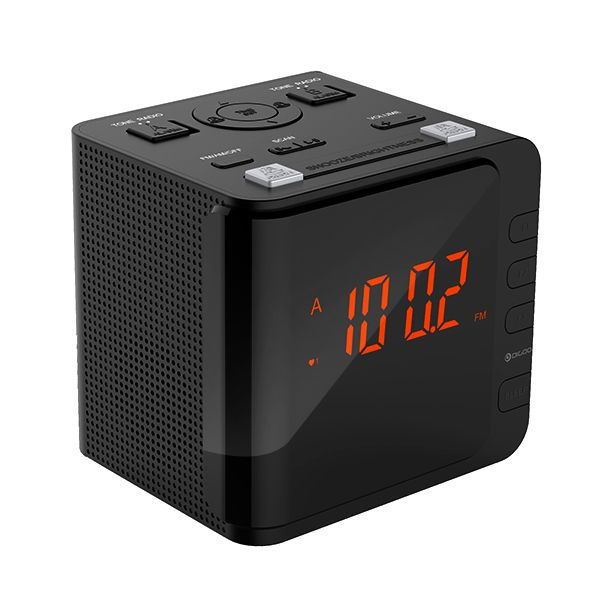 Digoo DG-CR7 LED Large Display USB Digital AM/FM Radio Alarm Clock