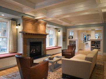 Porter Street Living Room - craftsman - Living Room - Dc Metro - Moore Architects, PC