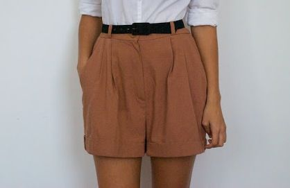 DIY Camel Shorts