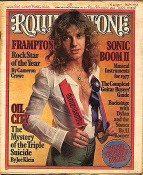 Rolling Stone Magazine Cover 1977