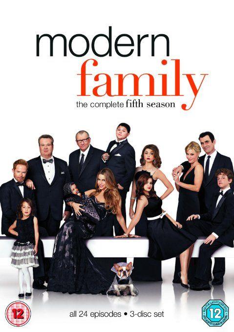 Modern Family - Season 5 [DVD]: Amazon.co.uk: Ed O'Neill, Sofía Vergara, Julie Bowen, Ty Burrell, Jesse Tyler Ferguson: DVD & Blu-ray