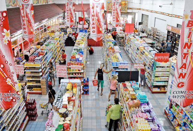 Bintang Super Market is a huge super market in Seminyak     www.travelling-bali.com
