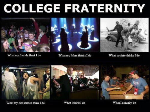 college fraternity