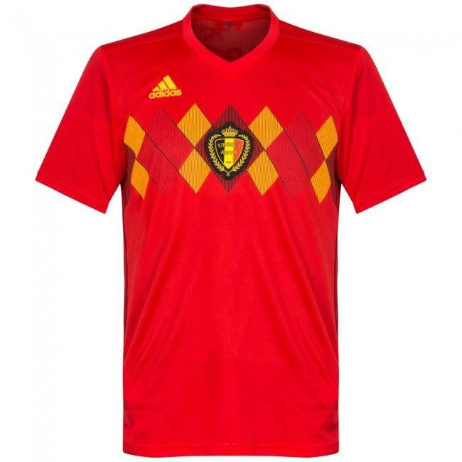 Camiseta de Bélgica 2018-2019 Local  shirt  style  football  futbol  belgium 5d91aa3d6c4e9